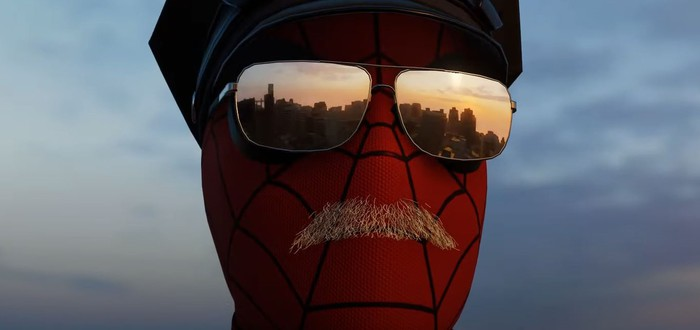 В Spider-Man нашли облик копа-паука с летающим дроном-пончиком
