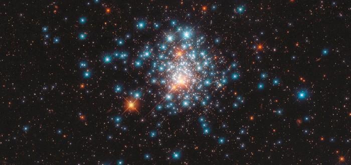 """Телескоп """"Хаббл"""" запечатлел массовое скопление звезд"""