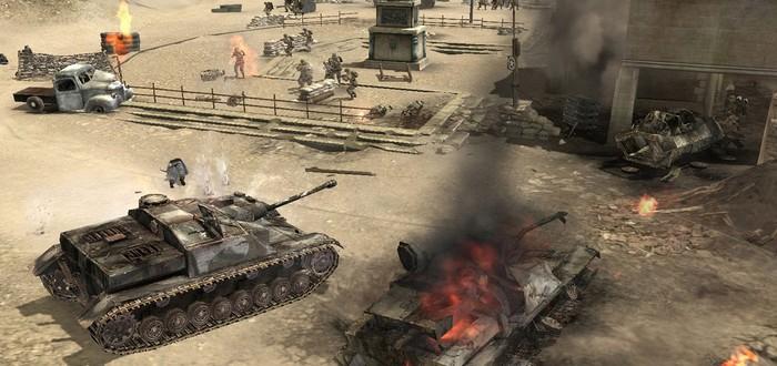 Геймплей в преддверии релиза мобильной версии Company of Heroes
