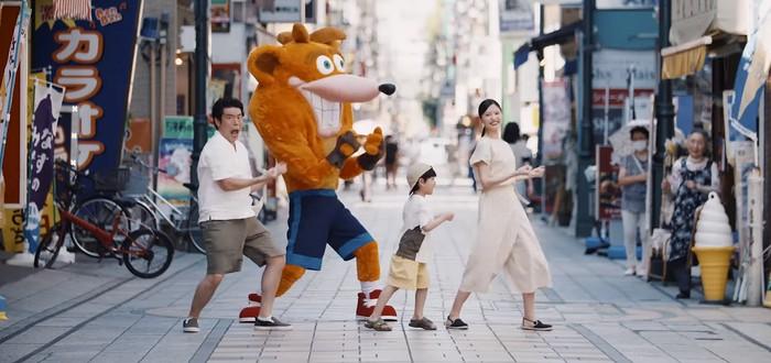 Безумный японский трейлер Crash Bandicoot 4: It's About Time