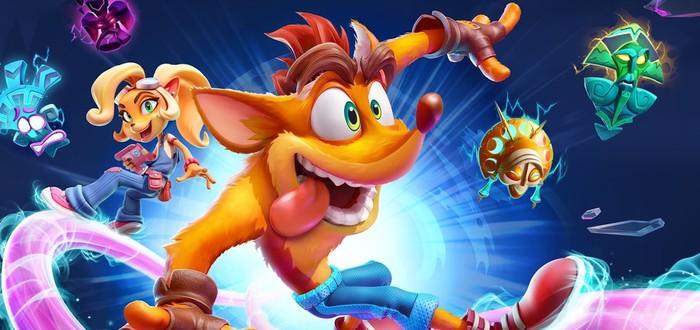 Вышла демоверсия Crash Bandicoot 4: It's About Time