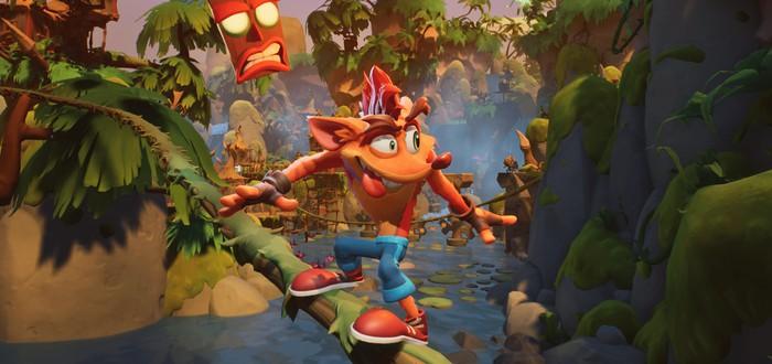 17 минут геймплея демоверсии Crash Bandicoot 4: It's About Time