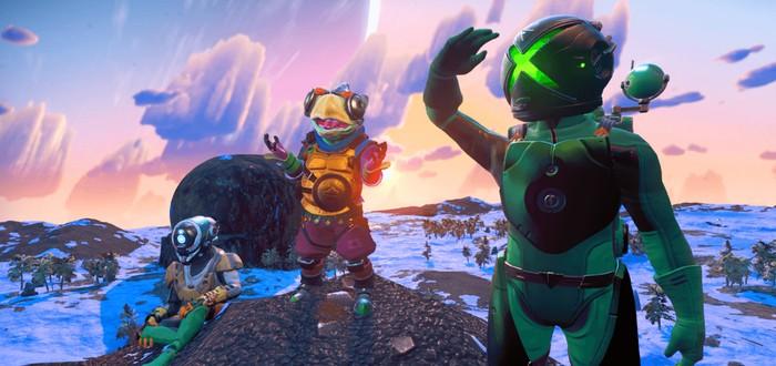 На следующей неделе No Man's Sky получит загадочное обновление Origins