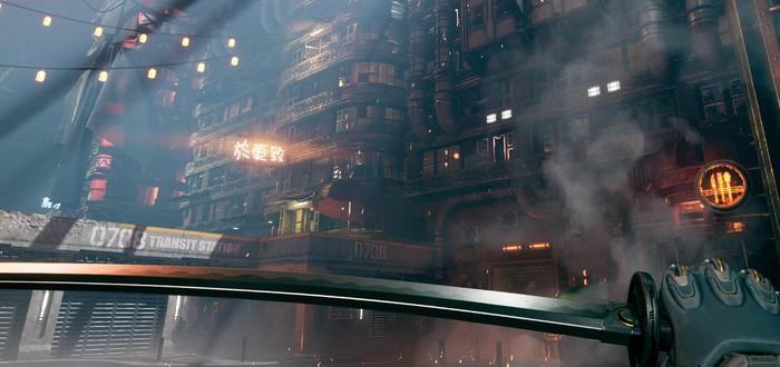 Новый трейлер киберпанк-экшена Ghostrunner, игра выйдет на Switch