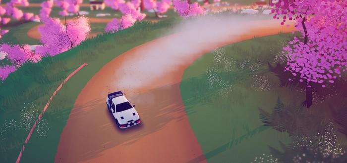 Красивые виды в релизном трейлере ретро-рейсинга art of rally