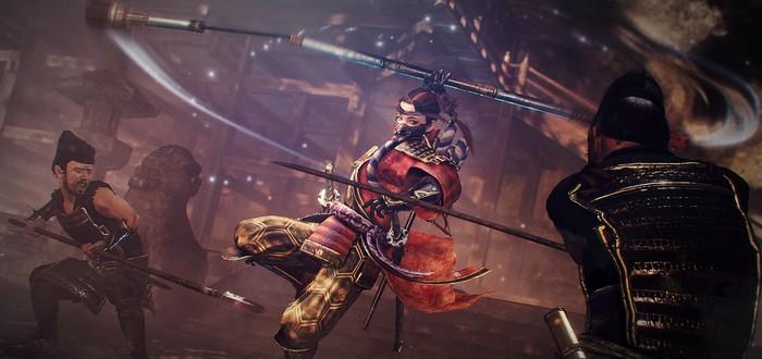 Второе дополнение для Nioh 2 получило название Darkness in the Capital — выйдет 15 октября