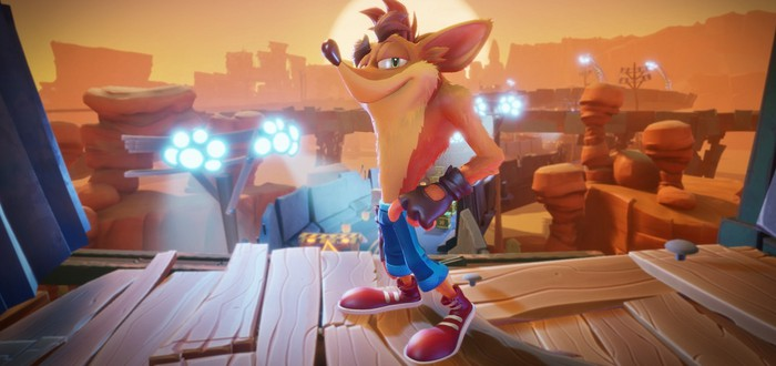 Стартовала предзагрузка Crash Bandicoot 4: It's About Time