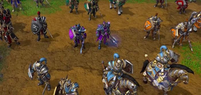Вышло демо фанатского ремейка Warcraft 2 на основе Warcraft 3: Reforged