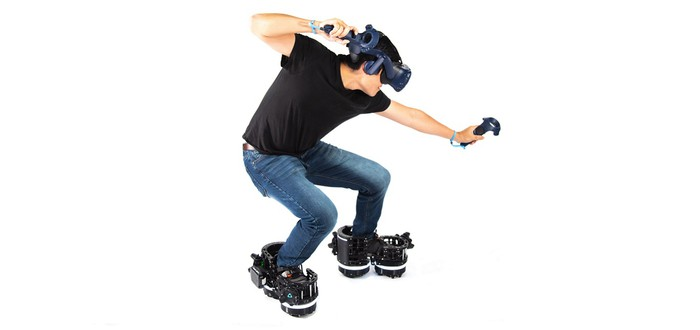 Ekto показала ботинки на колесиках для VR-игр