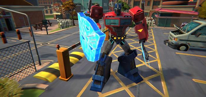 Тактические сражения в стиле XCOM в трейлере Transformers: Battlegrounds