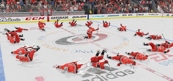 Демонстрация системы диалогов в новом трейлере NHL 21