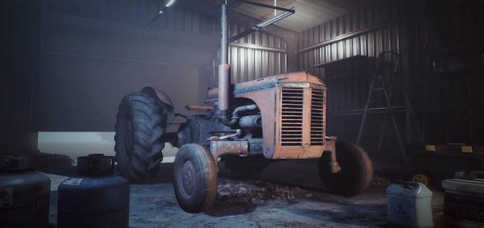 Трейлер и скриншоты симулятора механика фермерской техники Farm Mechanic Simulator