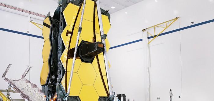 NASA завершило подготовку и тестирование телескопа имени Джеймса Уэбба
