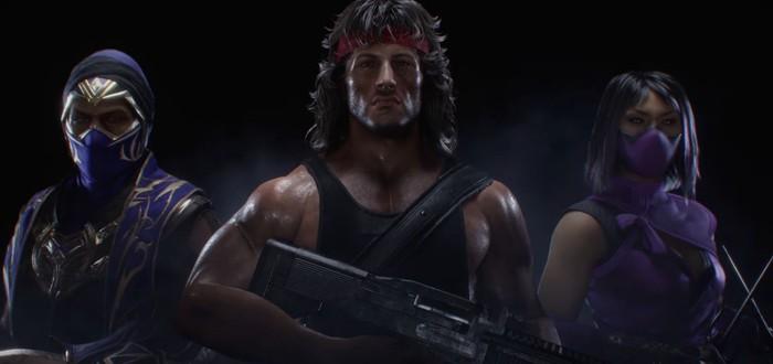 Рэмбо, быстрые загрузки и 4K — для Mortal Kombat 11 анонсировали новое DLC и версии для некстгена