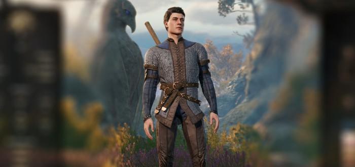 На основе данных игроков Larian создала образ самого банального мужского персонажа Baldur's Gate 3