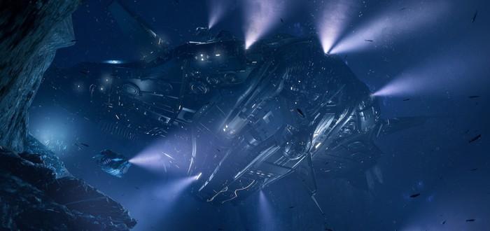 Обзорный трейлер подводного шутера Aquanox Deep Descent