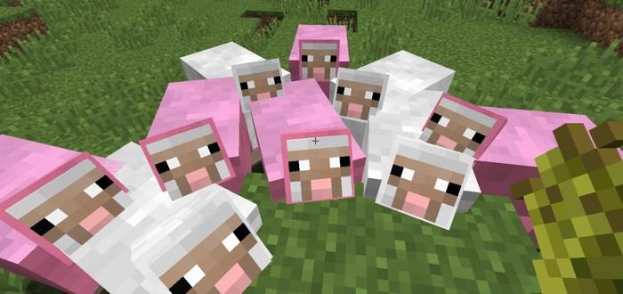 DOOM запустили на овцах в Minecraft