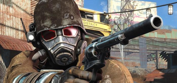 Геймплейный трейлер мода Fallout 4: New Vegas