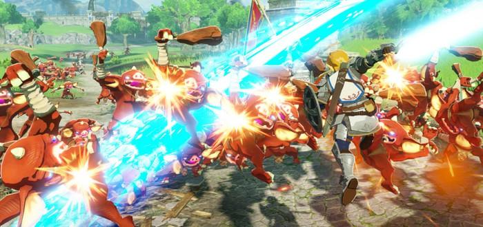 Сражения с десятками врагов в новом трейлере Hyrule Warriors: Age of Calamity