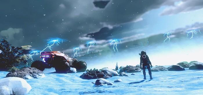 Игроки No Man's Sky занялись охотой за грозами и ураганами