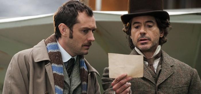 """Работа над третьим """"Шерлоком Холмсом"""" остановлена из-за коронавируса"""