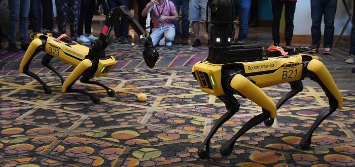 В следующем году робот-пес Spot от Boston Dynamics станет еще полезнее