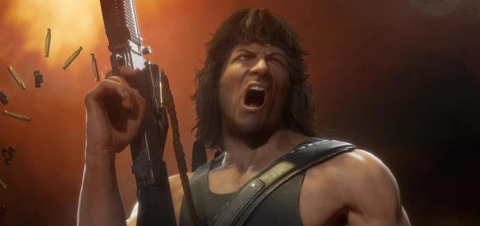 Рэмбо и его арсенал в новом трейлере Mortal Kombat 11