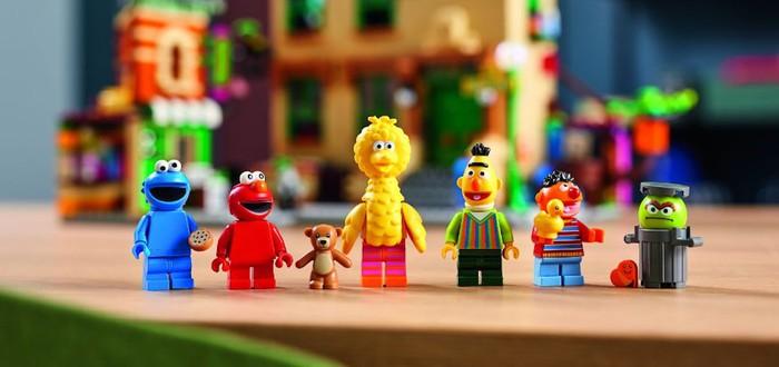 """LEGO выпустит набор по """"Улице Сезам"""""""