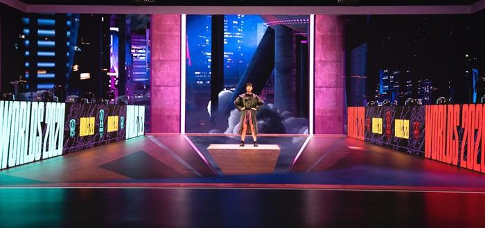 Эксперимент от Riot Games — LED-панели и AR для создания сцены на Worlds 2020