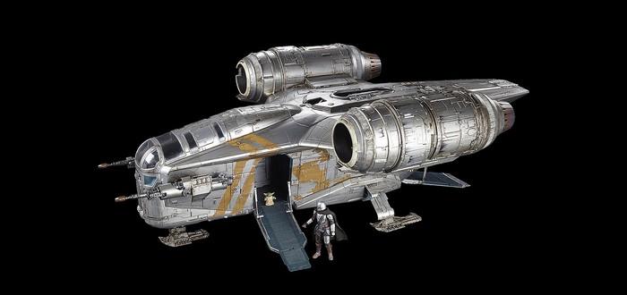 Взгляните на игрушечный корабль Мандалорца за $350