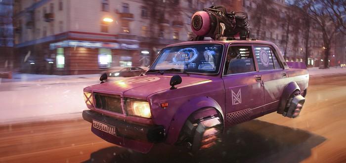 Уморительное видео — если бы Cyberpunk 2077 был в России