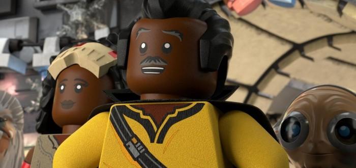 Малыш Йода и Дарт Вейдер в трейлере LEGO Star Wars Holiday Special