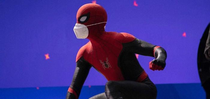 """Том Холланд на первом кадре со съемок """"Человек-паук 3"""""""
