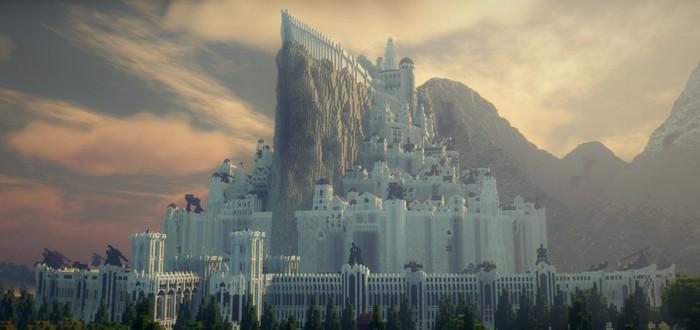Как команда фанатов уже 10 лет воссоздает Средиземье в Minecraft