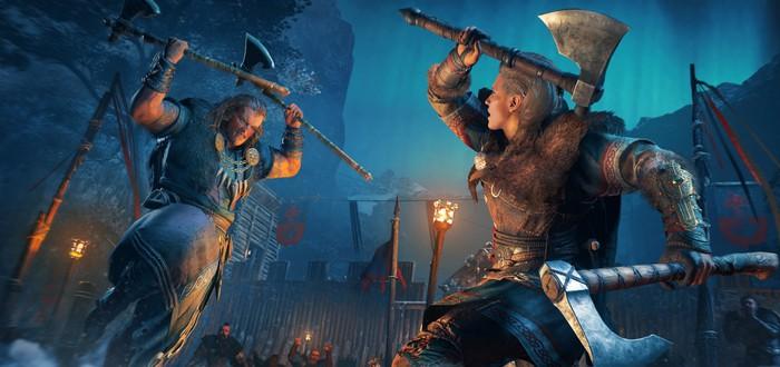 Видеосравнение Assassin's Creed Valhalla на PC, старом и новом поколении консолей