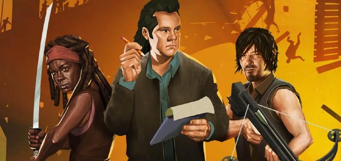 Убийство зомби и главные герои шоу в новом трейлере Bridge Constructor: The Walking Dead