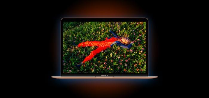 Бенчмарк MacBook Air с чипом M1 показывает отрыв даже от топовой модели MacBook Pro с Intel