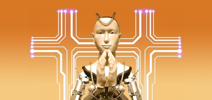 Папа римский призвал молиться о том, чтобы роботы всегда служили человечеству