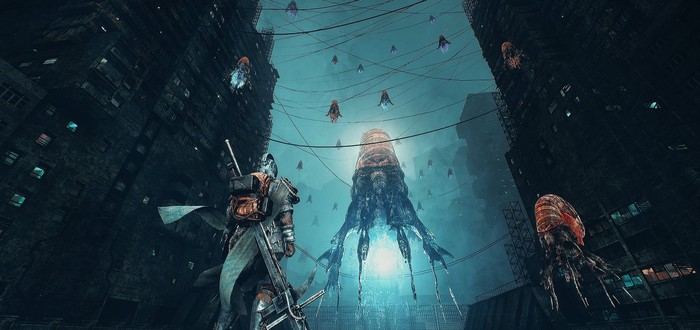 Сражения и стелс от гигантских роботов в геймплее souls-like Bleak Faith
