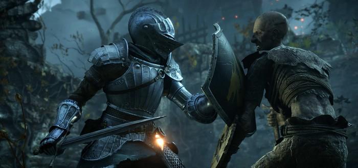 Игроки Demon's Souls пытаются открыть загадочную дверь, которой не было в оригинале