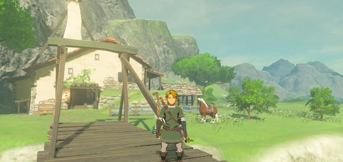 Энтузиасты построили дом Линка из The Legend of Zelda: Breath of the Wild