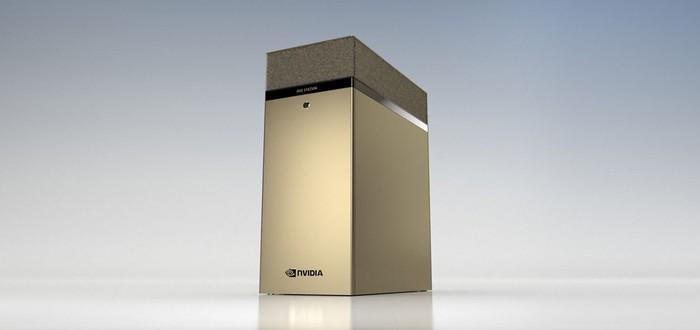 NVIDIA представила рабочую станцию с четырьмя GPU, каждый на 80 ГБ памяти