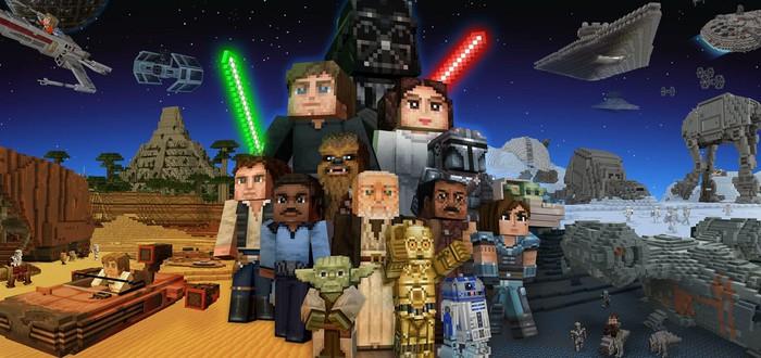 """Minecraft получила масштабное DLC по """"Звездным войнам"""""""