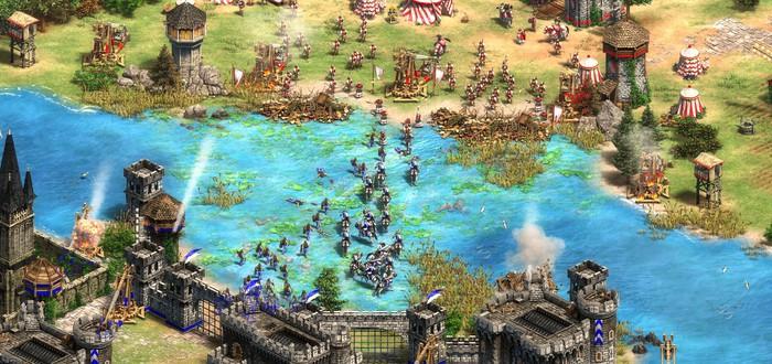 Геймплей королевской битвы в трейлере апдейта Age of Empires II: Definitive Edition