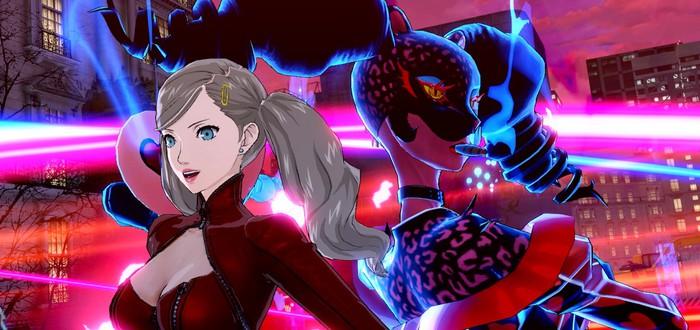Азиатские магазины опубликовали дату релиза английской версии Persona 5 Scramble: The Phantom Strikers