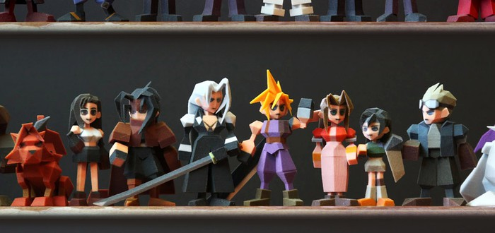 Square Enix запретила фанату продавать 3D фигурки персонажей FFVII