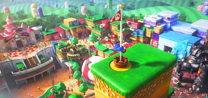 Новые фото тематического парка Super Nintendo World