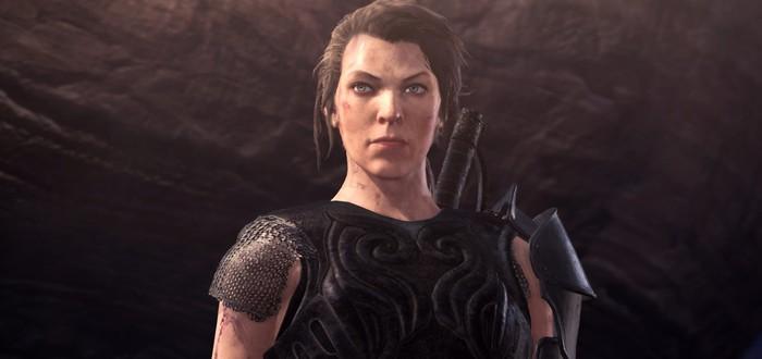 Милла Йовович в трейлере обновления Monster Hunter World: Iceborne