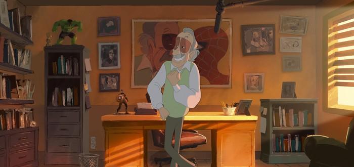 Анимация: Стэн Ли ругается во время работы
