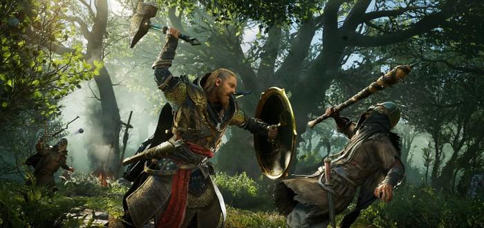 Геймплей Assassin's Creed Valhalla в 60 FPS на Xbox Series S